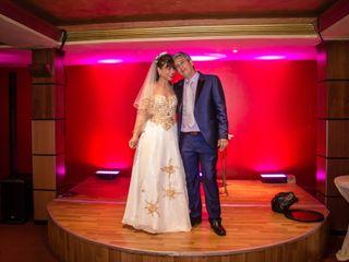 El matrimonio de Mónica  y Juan Guillermo