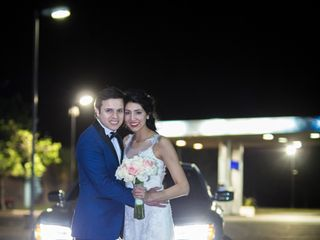 El matrimonio de Andrea y Matias