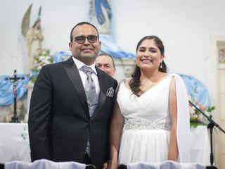 El matrimonio de Adela  y Juan Francisco