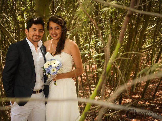 El matrimonio de Felipe y Camila
