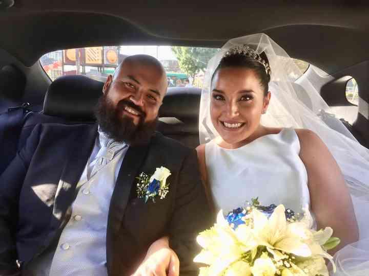 El matrimonio de Rolando  y Sylvie