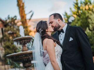 El matrimonio de Estefania y Manuel