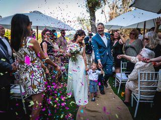 El matrimonio de Catalina y Rodrigo