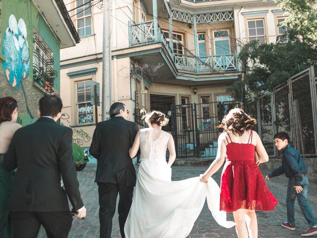 El matrimonio de Alejandro y Tania en Valparaíso, Valparaíso 9