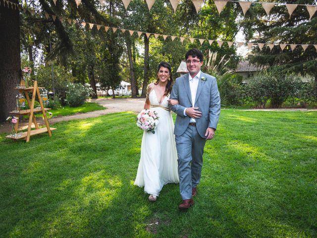 El matrimonio de Rodrigo y Catalina en Huechuraba, Santiago 2
