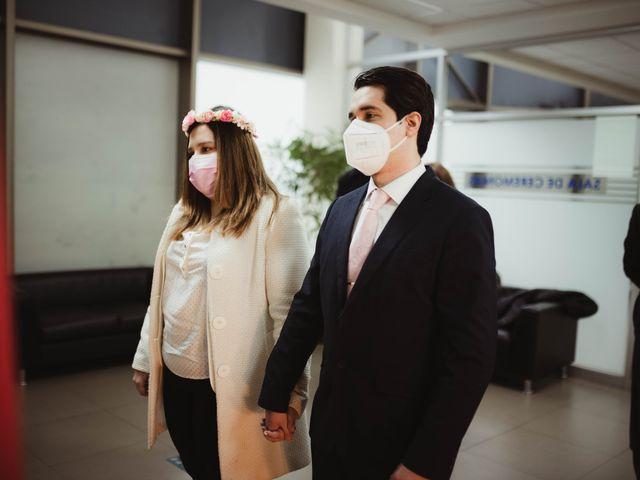 El matrimonio de Felipe y Isidora en Providencia, Santiago 4