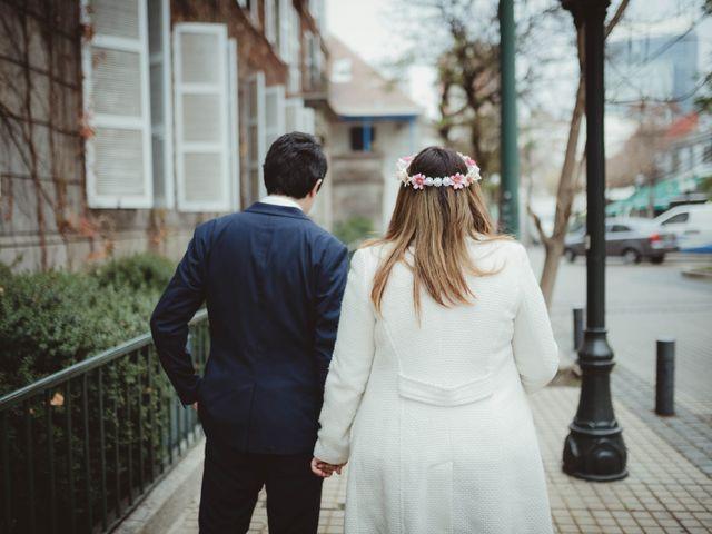 El matrimonio de Felipe y Isidora en Providencia, Santiago 6