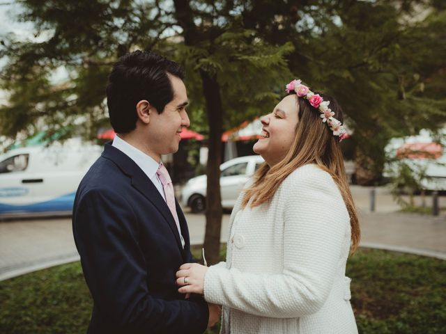 El matrimonio de Felipe y Isidora en Providencia, Santiago 7