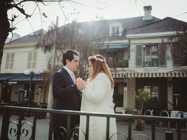 El matrimonio de Felipe y Isidora en Providencia, Santiago 11