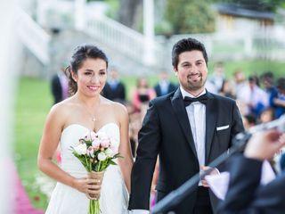 El matrimonio de Beatriz y Franco