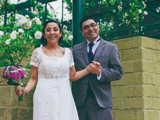 El matrimonio de Cristina y Juan Carlos