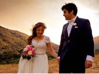 El matrimonio de Fabiola y Claudio