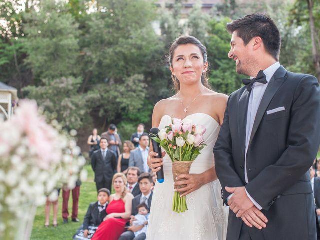 El matrimonio de Franco y Beatriz en San José de Maipo, Cordillera 40
