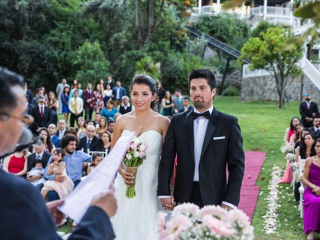 El matrimonio de Franco y Beatriz en San José de Maipo, Cordillera 43