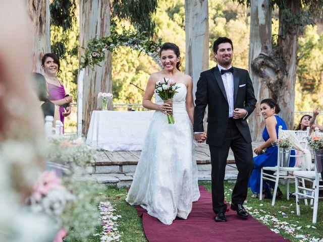 El matrimonio de Franco y Beatriz en San José de Maipo, Cordillera 54