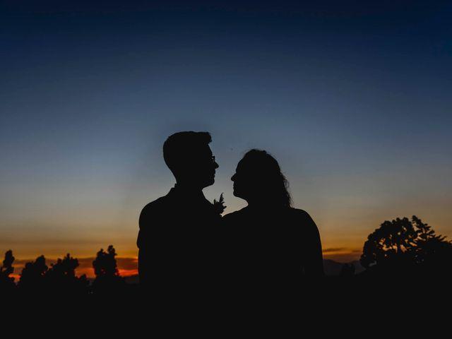 El matrimonio de María José y Leandro