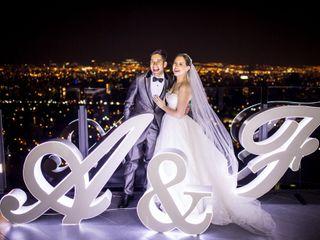 El matrimonio de Andrea y Fabián