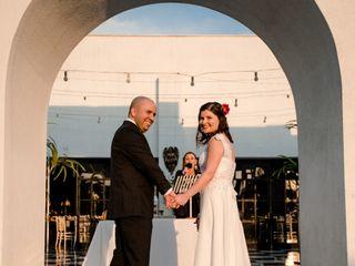 El matrimonio de Carla y Claudio 1