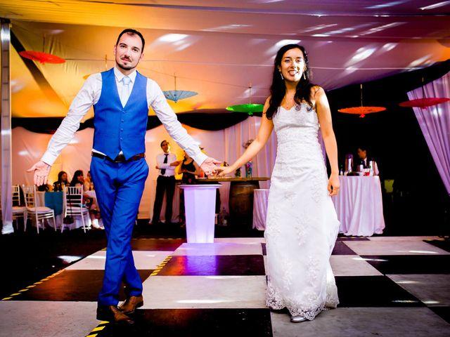 El matrimonio de Andrea y Tobias