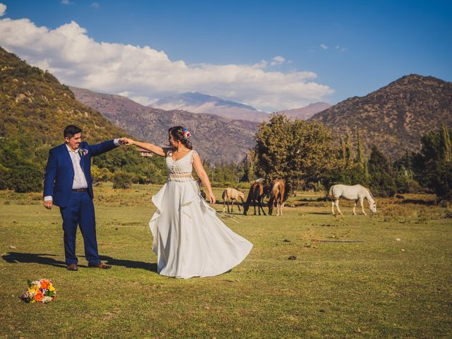 El matrimonio de Javiera  y Eugenio