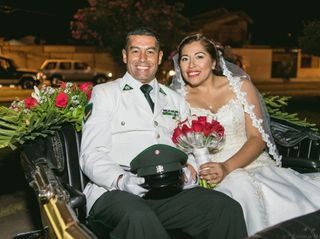 El matrimonio de Caroll y Mario