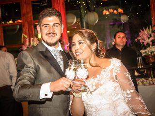 El matrimonio de Rodrigo y Rocío