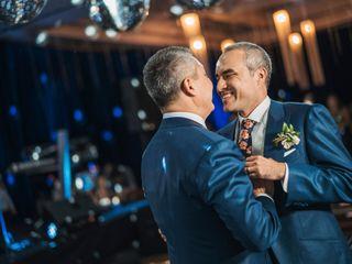 El matrimonio de Rodrigo y Marcelo