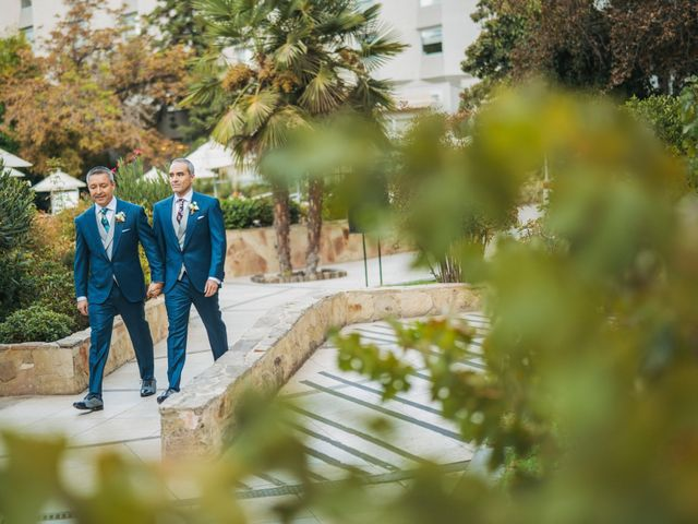 El matrimonio de Marcelo y Rodrigo en Providencia, Santiago 7