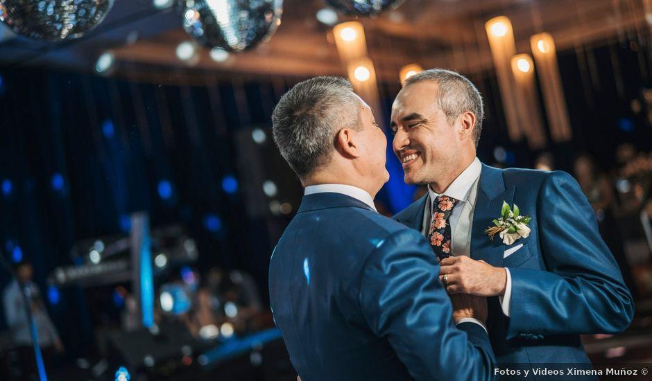 El matrimonio de Marcelo y Rodrigo en Providencia, Santiago