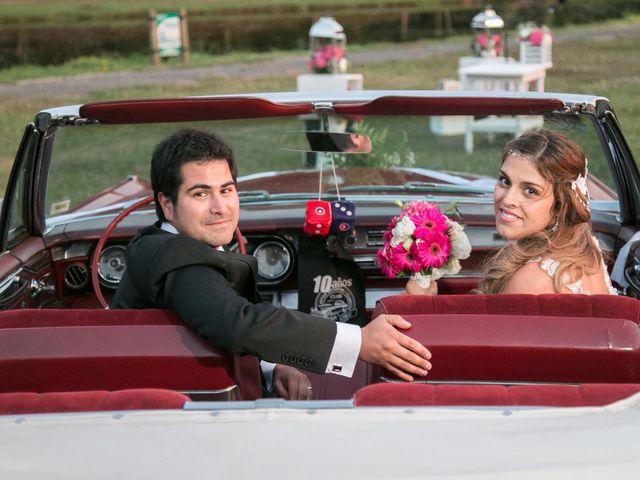 El matrimonio de Valentina y Gino