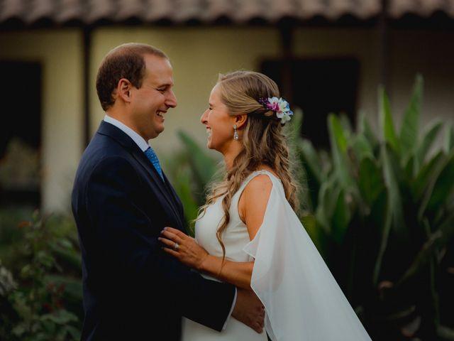 El matrimonio de Pili y Luis