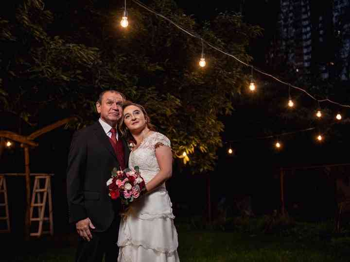 El matrimonio de Marcela y Oscar