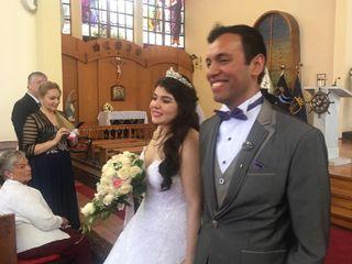 El matrimonio de Victoria y Christopher