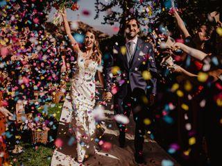 El matrimonio de María Paz y Roberto