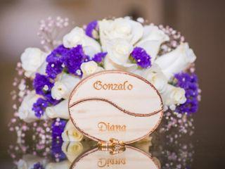 El matrimonio de Diana  y Gonzalo  3