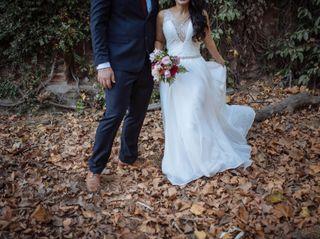 El matrimonio de Carla y Martín