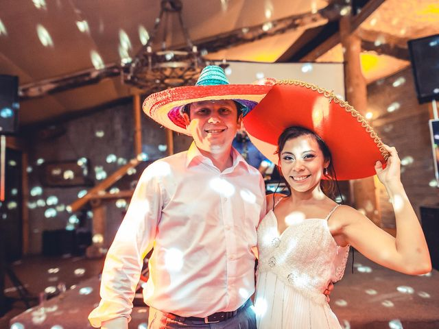 El matrimonio de Victoria y Rodrigo