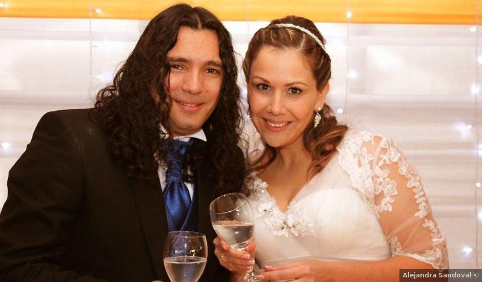 El matrimonio de sergio y jessica en Puente Alto, Cordillera