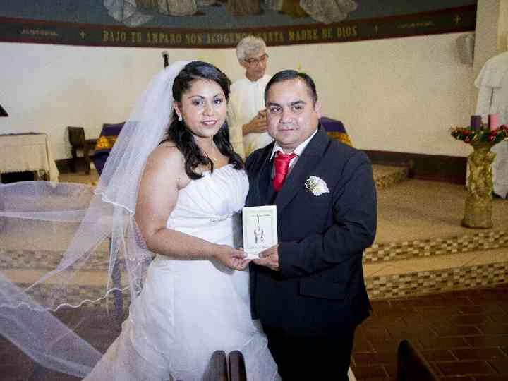 El matrimonio de Karen y Valerio
