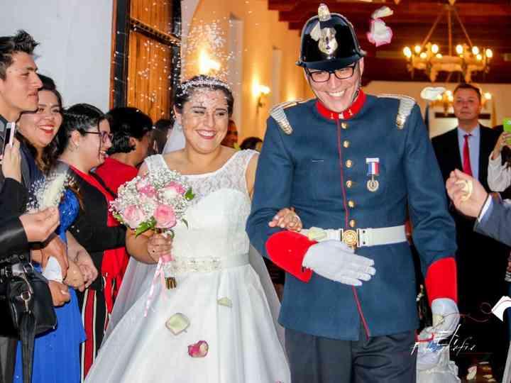 El matrimonio de Gabriela Molina  y Alejandro Quezada