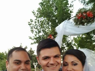El matrimonio de Karen y Valerio 1