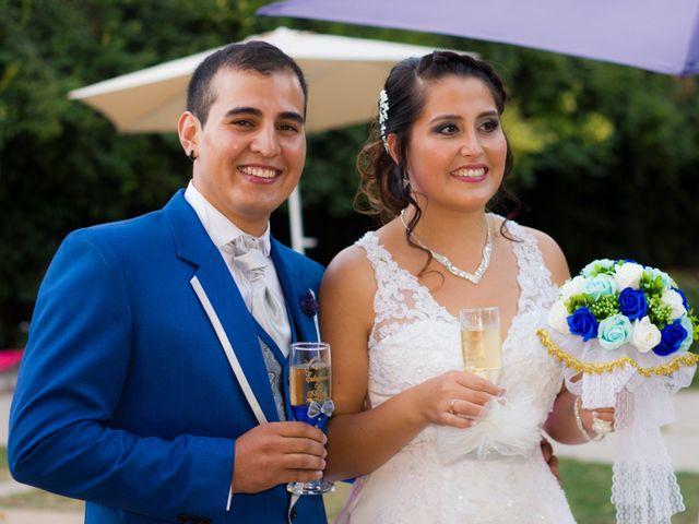 El matrimonio de Estefania Ramirez y Allan Bustos