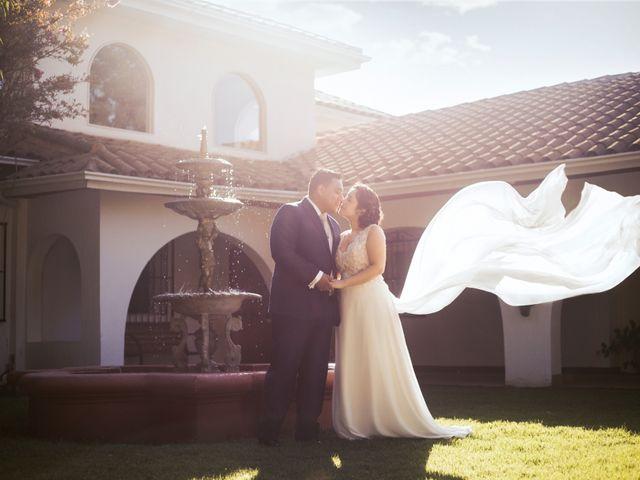 El matrimonio de Inge y David