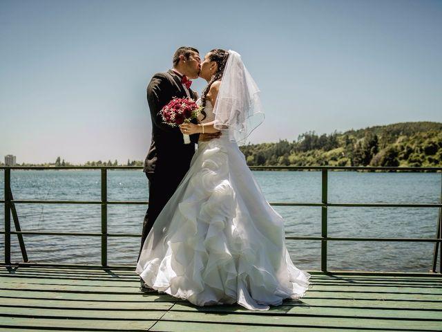 El matrimonio de Vanesa  y Alonso