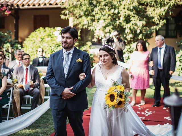 El matrimonio de Pamela y Félix en Graneros, Cachapoal 15