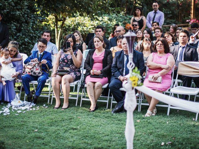 El matrimonio de Pamela y Félix en Graneros, Cachapoal 17