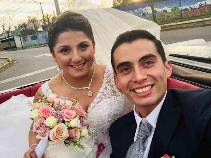 El matrimonio de Daniela  y Víctor