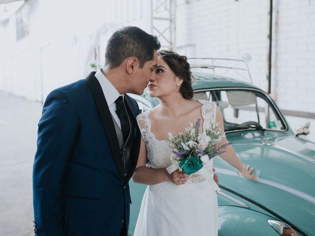 El matrimonio de Keren y Esteban