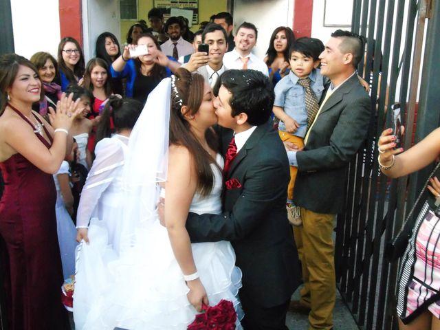 El matrimonio de Leonardo y Nayareth en Lo Prado, Santiago 1