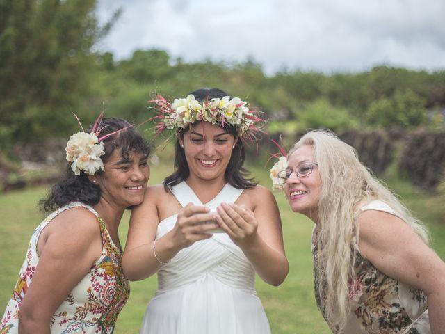 Matrimonio Simbolico Isla De Pascua : El matrimonio de luis y gianina en isla pascua